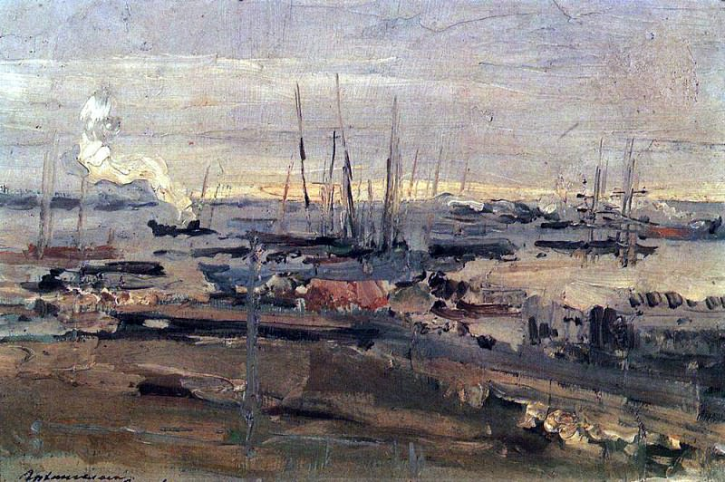 Arkhangelsk. 1897. Konstantin Alekseevich Korovin