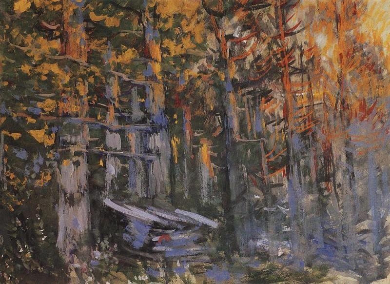 Forest. 1918. Konstantin Alekseevich Korovin