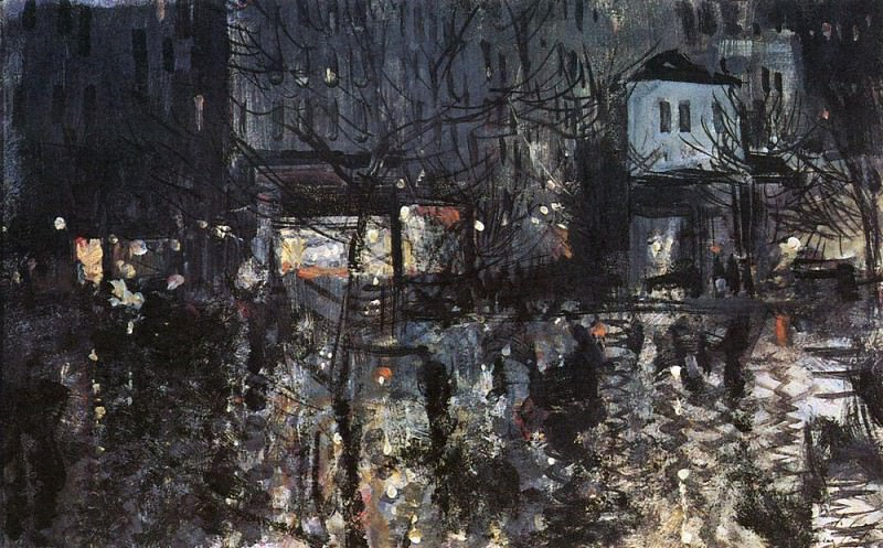 After a rain. Paris. 1897. Konstantin Alekseevich Korovin