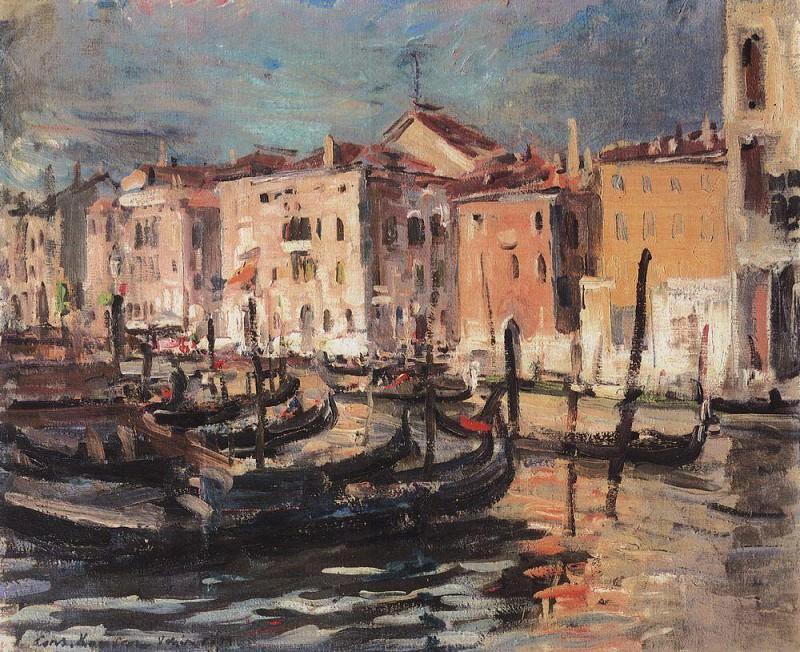 Venice. 1894. Konstantin Alekseevich Korovin