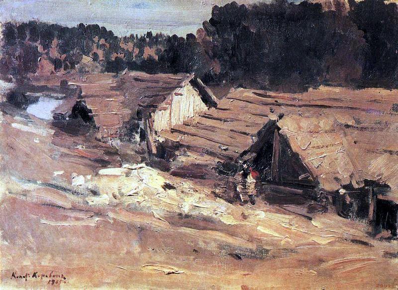 Kem. 1905. Konstantin Alekseevich Korovin