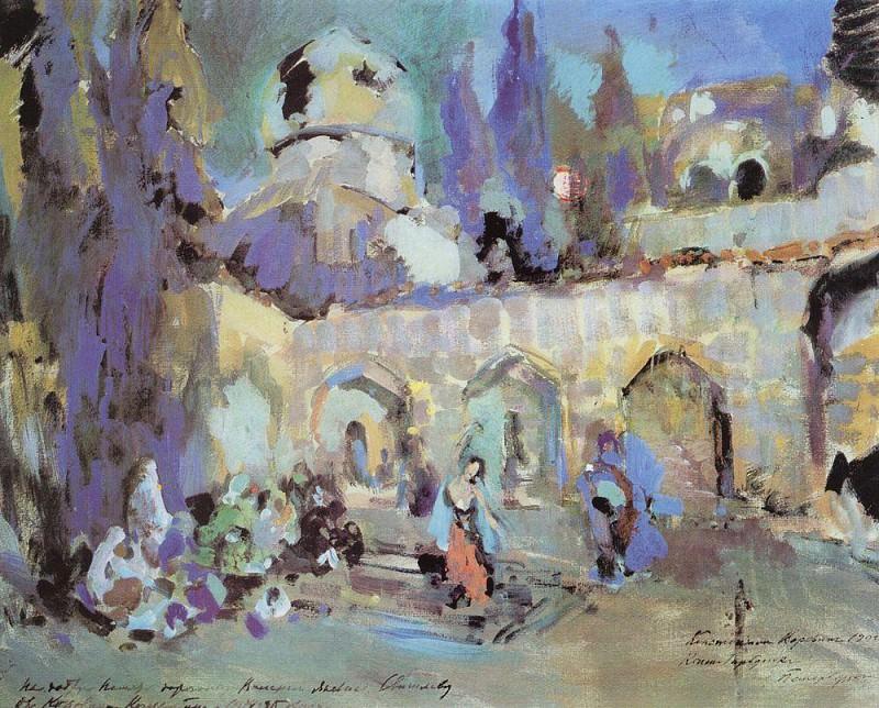 Dance. 1912. Konstantin Alekseevich Korovin