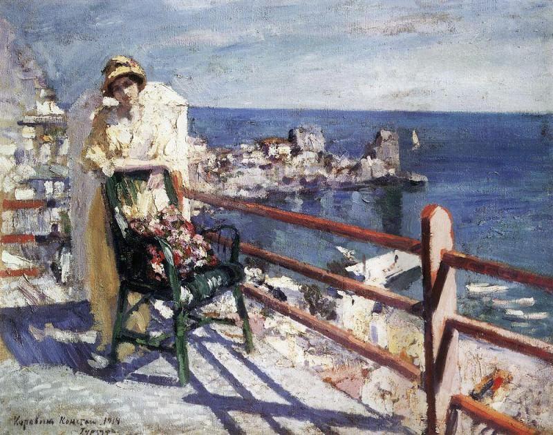 Gurzuf. 1914. Konstantin Alekseevich Korovin