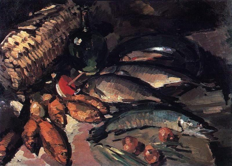 Ryby1. 1916. Konstantin Alekseevich Korovin