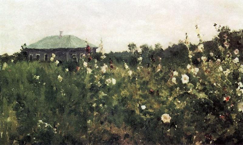 Malwa in the Saratov province. 1889. Konstantin Alekseevich Korovin