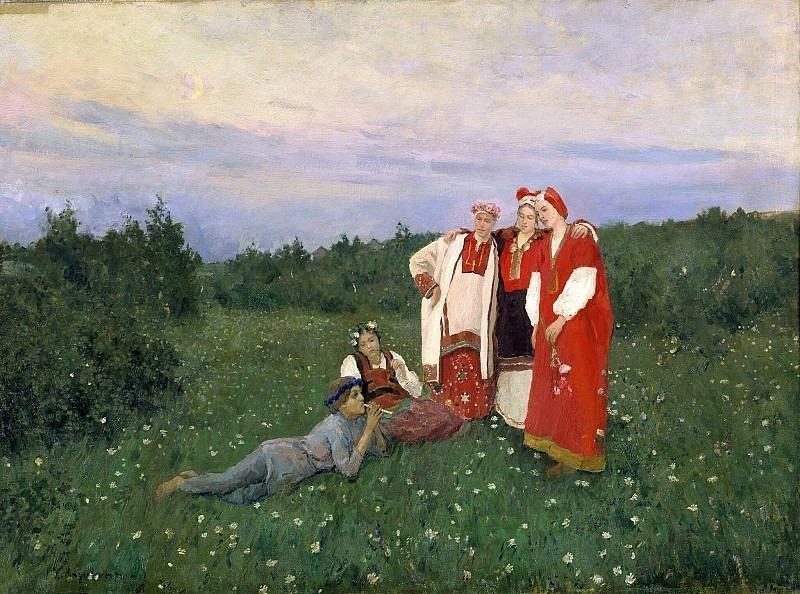 Northern idyll. Konstantin Alekseevich Korovin