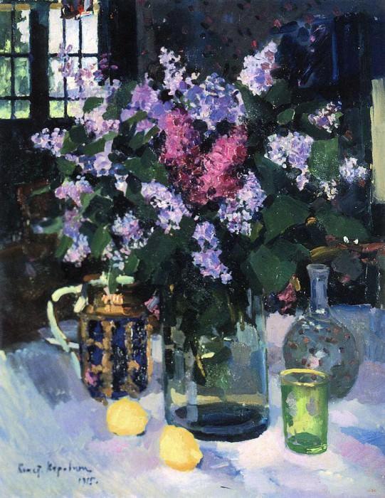 Lilac. 1915. Konstantin Alekseevich Korovin