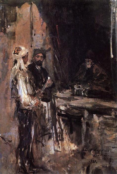 Purchase dagger. 1889. Konstantin Alekseevich Korovin