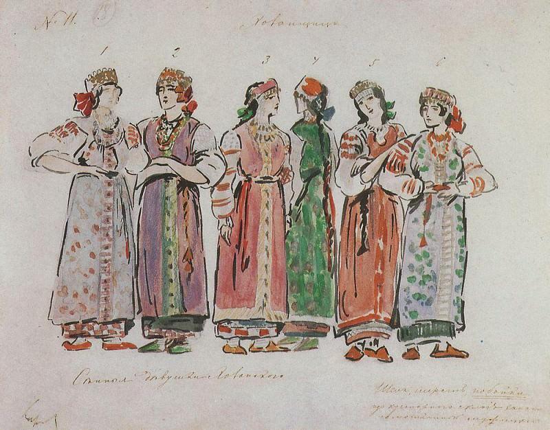 Hay girl. 1911. Konstantin Alekseevich Korovin