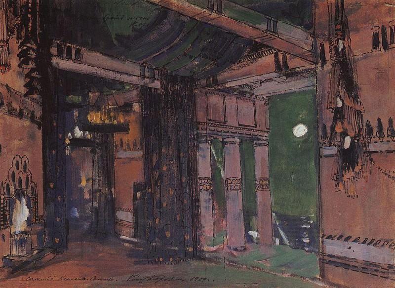 Room Salammbo. 1909. Konstantin Alekseevich Korovin