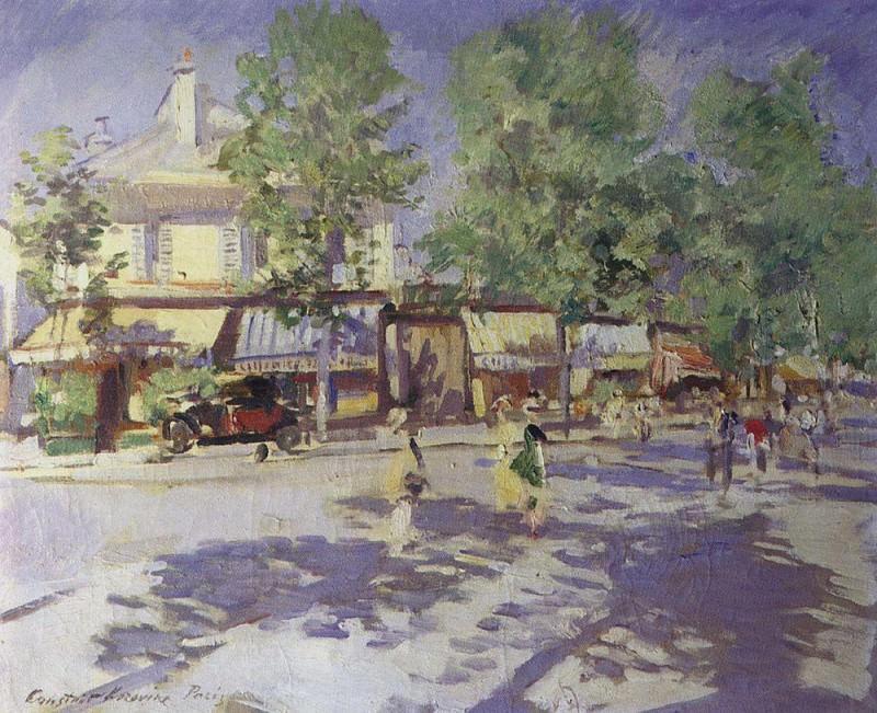 Paris this morning. 1920. Konstantin Alekseevich Korovin