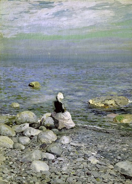 On the Shore of the Black Sea. Konstantin Alekseevich Korovin