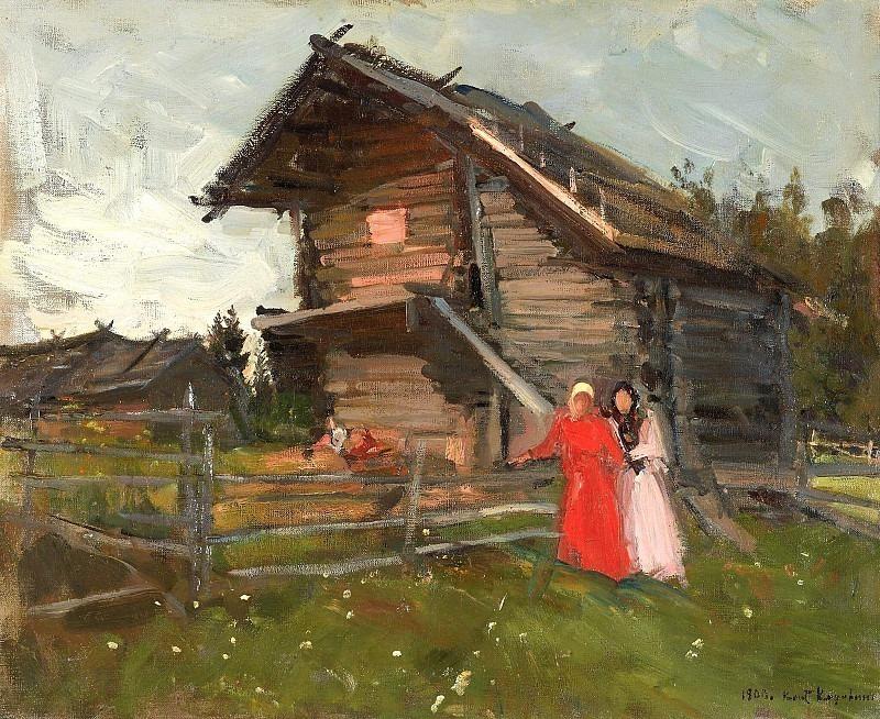 Сарай. Коровин Константин Алексеевич