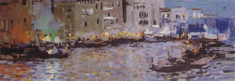 Venice. 1891. Konstantin Alekseevich Korovin