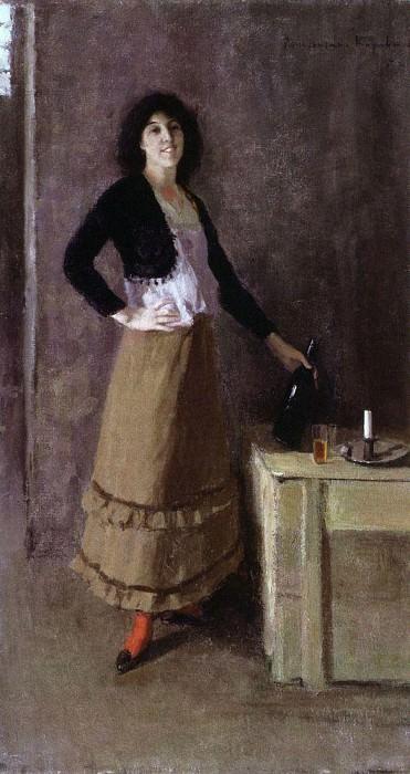 Spaniard. 1894. Konstantin Alekseevich Korovin