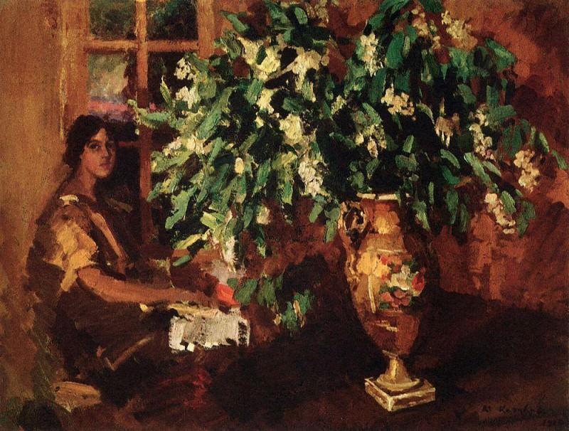 Cheremukha. 1912. Konstantin Alekseevich Korovin