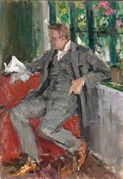 Portrait of Fyodor Chaliapin. Konstantin Alekseevich Korovin