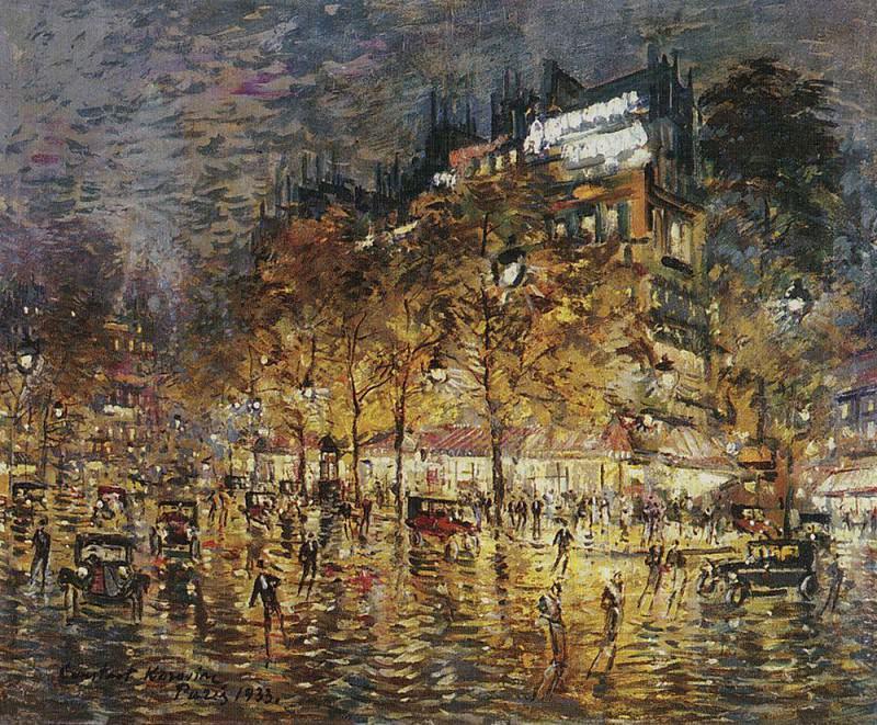 Париж. 1933. Коровин Константин Алексеевич
