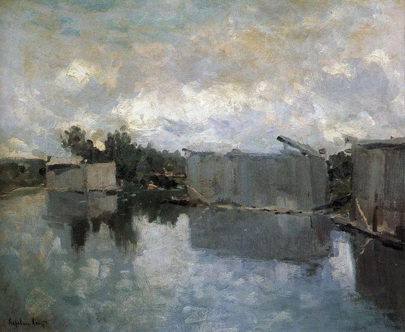 Купальни. 1910-е. Коровин Константин Алексеевич