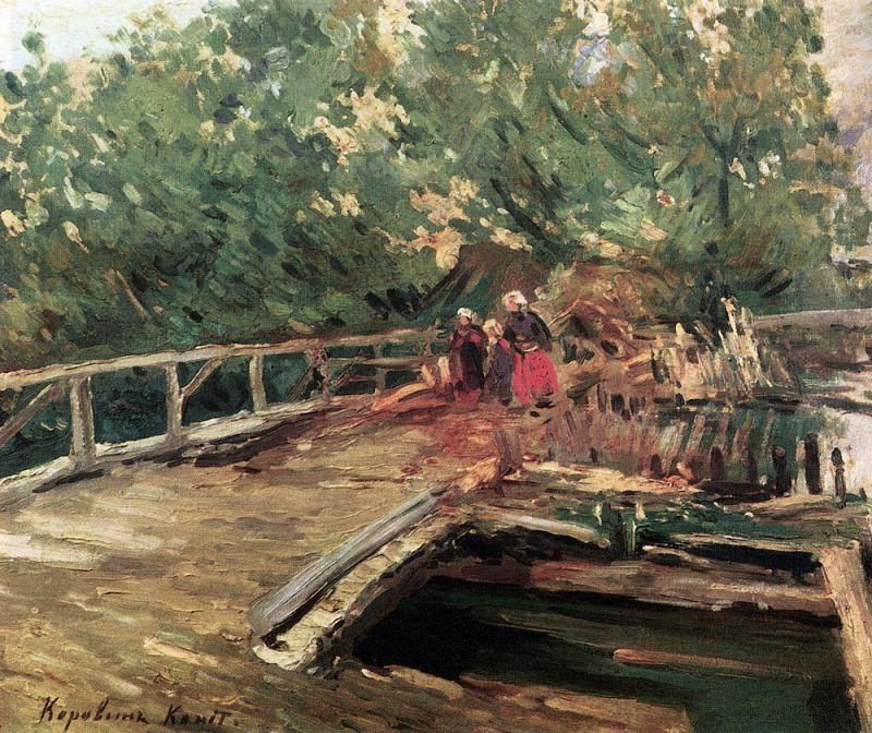 Bridge. Konstantin Alekseevich Korovin