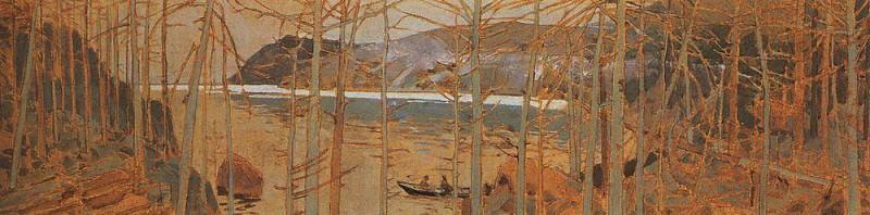 Тайга у Байкала. 1900. Коровин Константин Алексеевич