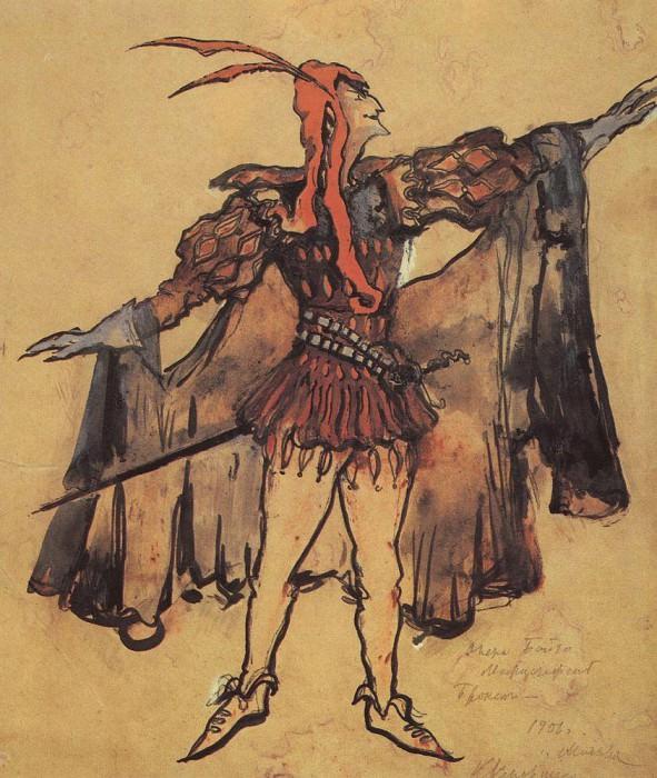 Mephistopheles. 1906. Konstantin Alekseevich Korovin