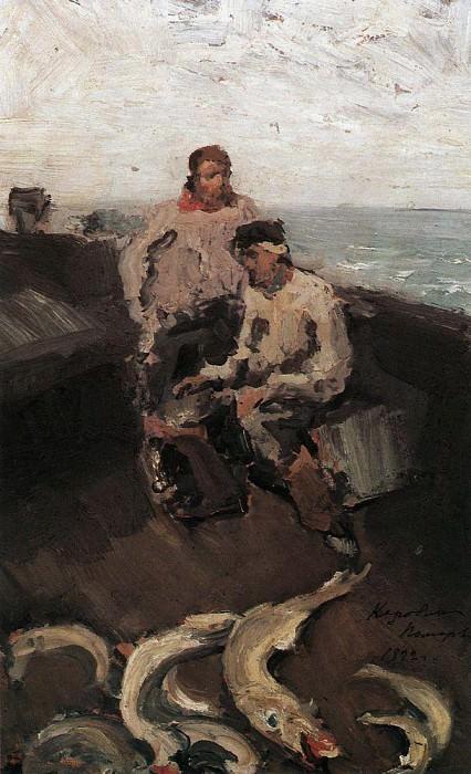 Pomorie. 1894. Konstantin Alekseevich Korovin