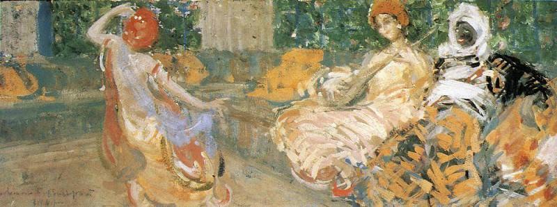 Bakhchisaraj. 1907. Konstantin Alekseevich Korovin