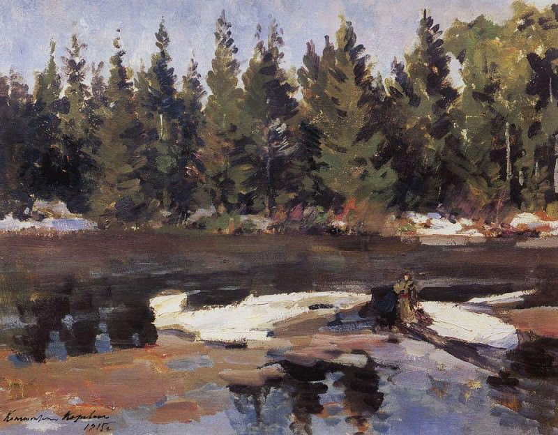 Spring. 1915. Konstantin Alekseevich Korovin