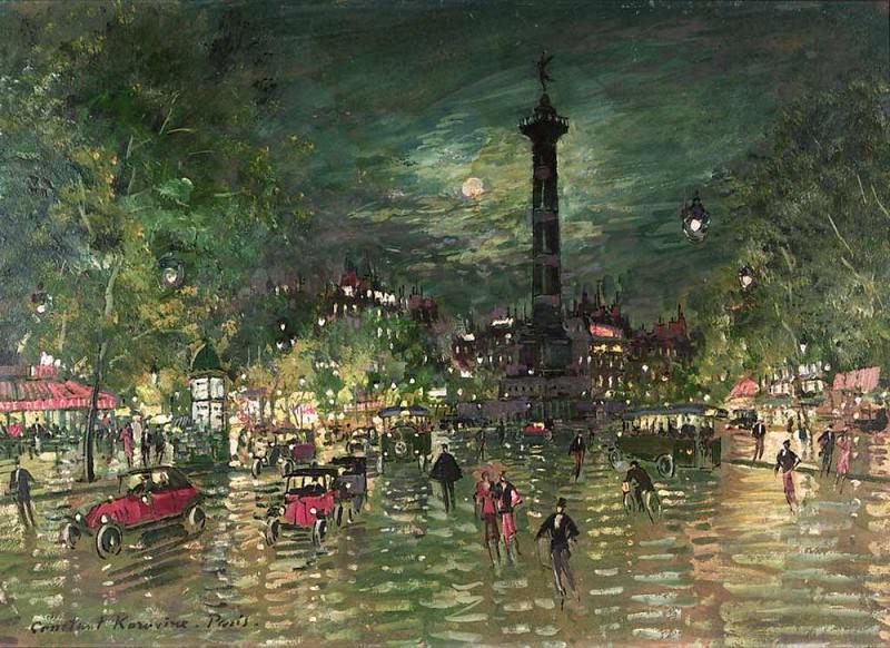 Bastille. 1928. Konstantin Alekseevich Korovin