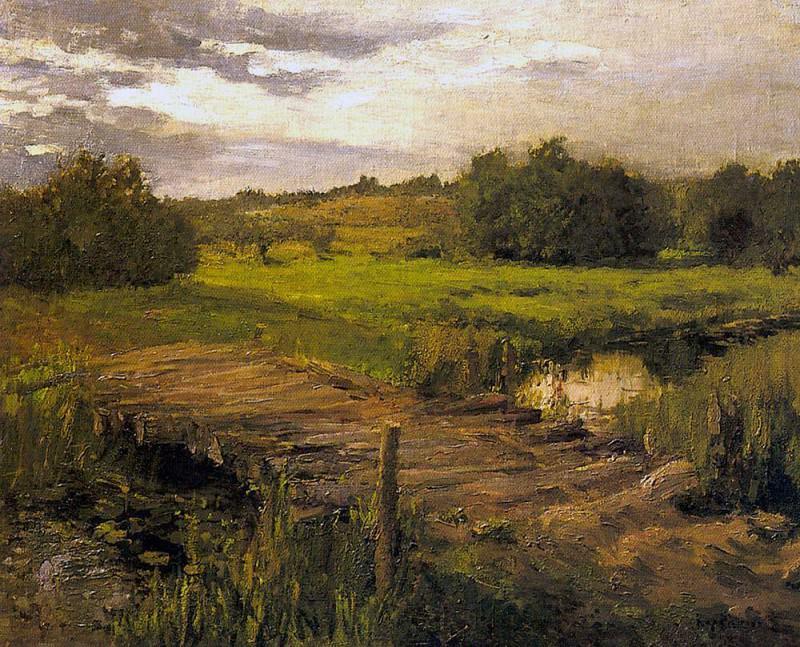 Stream. End 1890. Konstantin Alekseevich Korovin