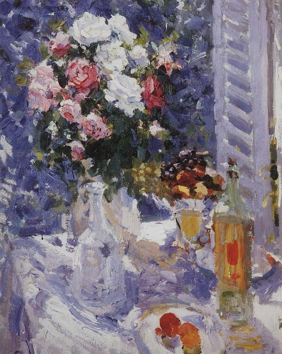 Flowers and Fruit. 1911-1912. Konstantin Alekseevich Korovin