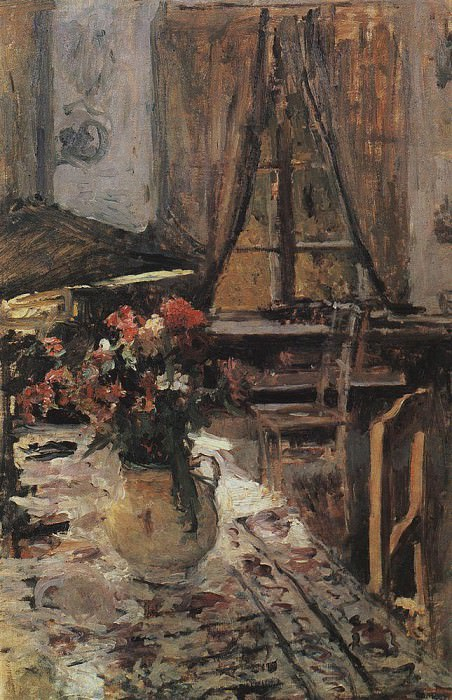Twilight in the room. 1880. Konstantin Alekseevich Korovin