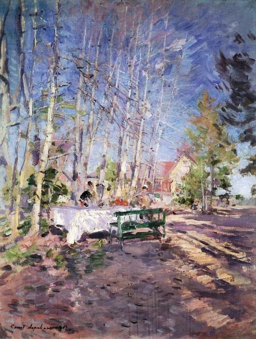 Spring. 1917. Konstantin Alekseevich Korovin