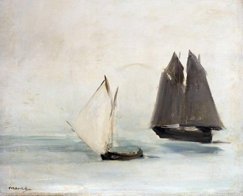 Seascape. Édouard Manet