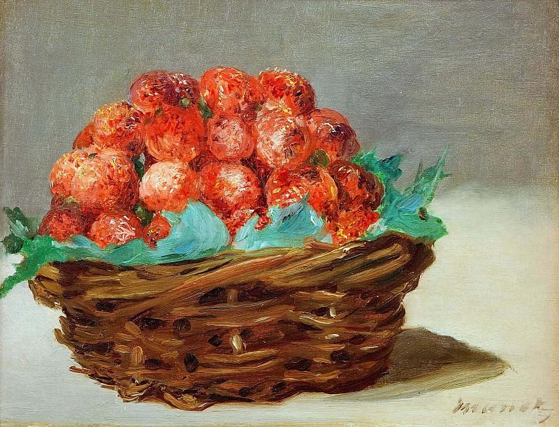 Strawberry basket. Édouard Manet