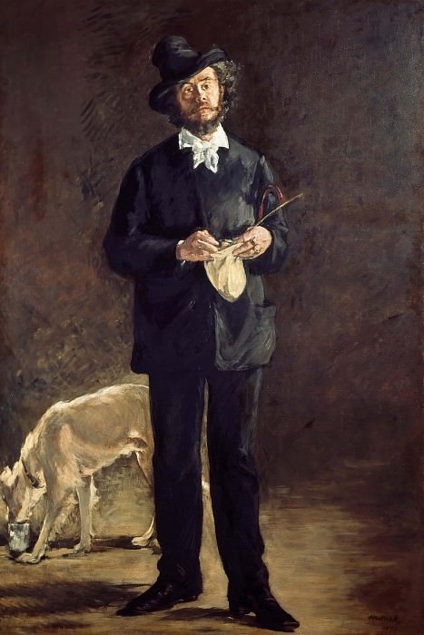The Artist - 1875. Édouard Manet