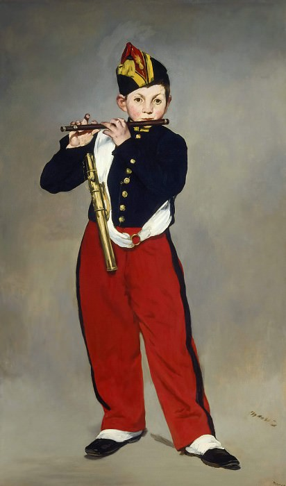 The Fifer. Édouard Manet