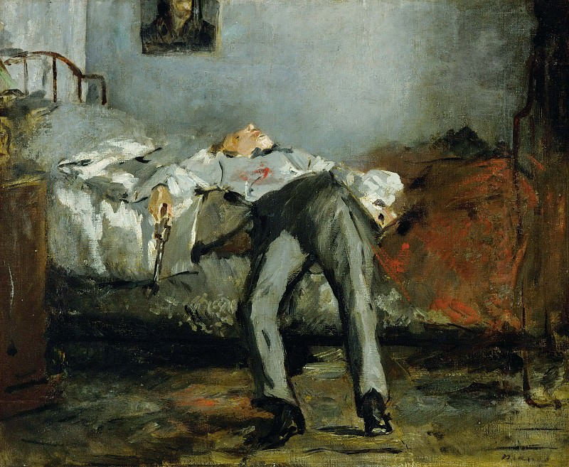The Suicide. Édouard Manet
