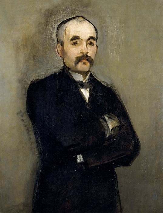 Portrait of Clemenceau. Édouard Manet