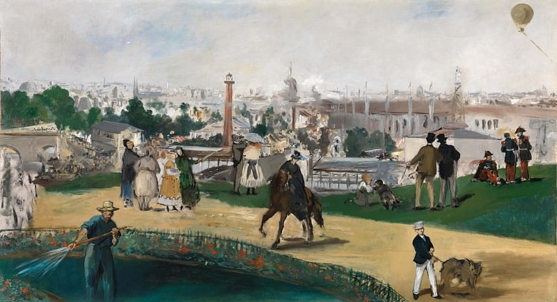 The World Exhibition in Paris in 1867. Édouard Manet
