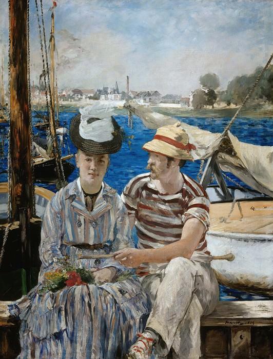 Argenteuil. Édouard Manet
