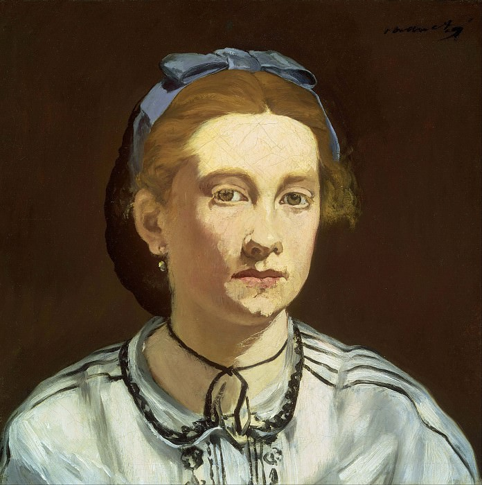 Portrait of Victorine Meurent. Édouard Manet