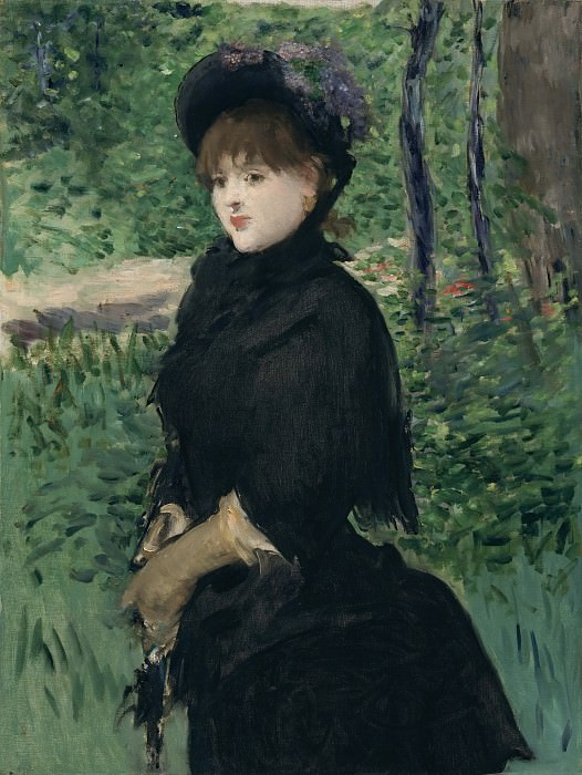 The Promenade. Édouard Manet