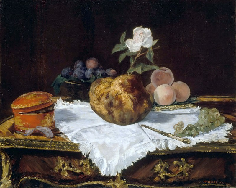 The Brioche. Édouard Manet