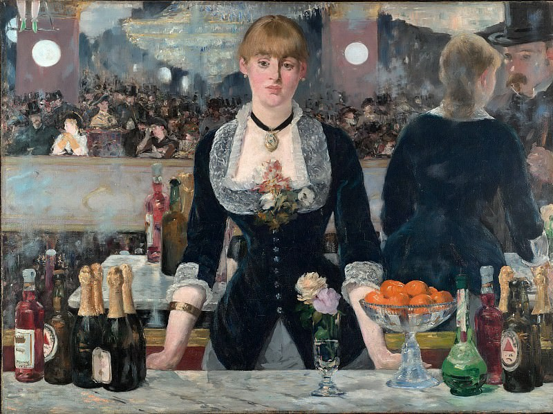 A Bar at the Folies-Bergere. Édouard Manet