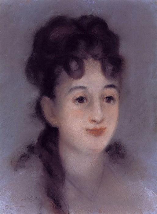 Eva Gonzales. Édouard Manet