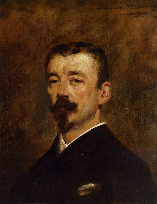 Portrait of Monsieur Tillet. Édouard Manet