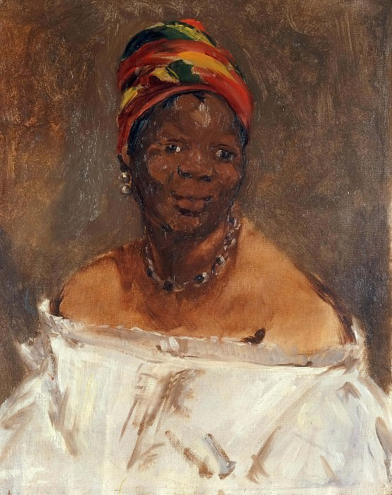 The Black Woman. Édouard Manet