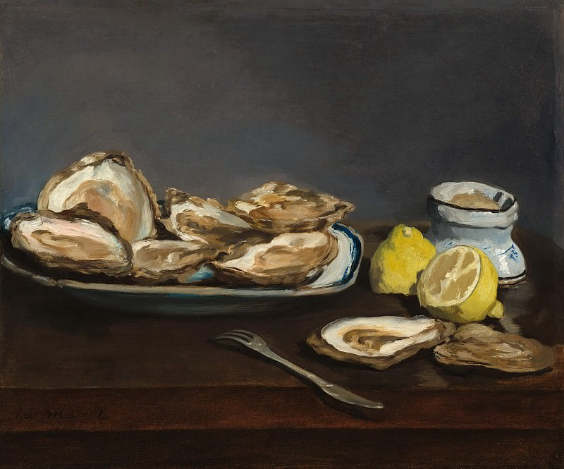 Oysters. Édouard Manet